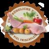 Lakefields Hundefutter Trockenfutter Trockenfleisch Menü Huhn für Welpen Zutaten