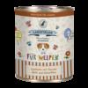 Lakefields Hundefutter Nassfutter Dosenfleisch Menü Huhn für Welpen 800g
