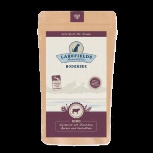 Lakefields Hundefutter Trockenfutter Trockenfleisch Menü Rind 150g